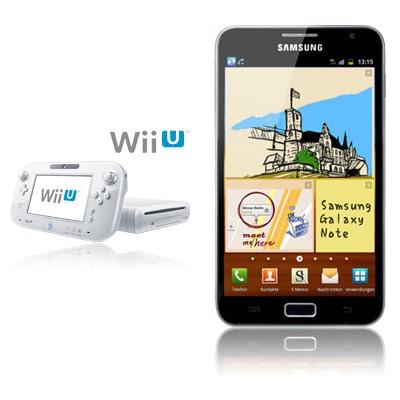 Nintendo Wii U 8GB + Samsung Galaxy Note N7000
