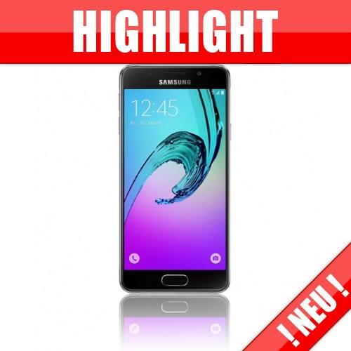 Samsung Galaxy A3 (2016) A310F - Duo-Tarif im Netz O2 des Providers Mobilcom Debitel