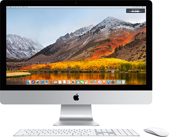 Apple iMac macOS Sierra