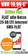 freeFlat 8 GB LTE 16.99