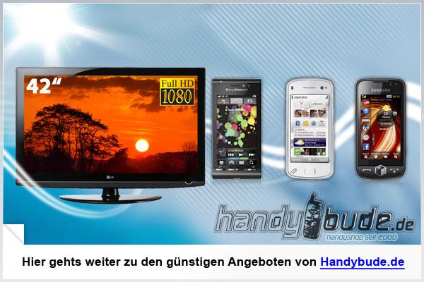 handybude.de ... Handys unverschämt günstig!