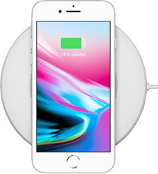 Apple iPhone 8 Kabelloses Laden