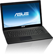 Notebook 17,3 Asus F75